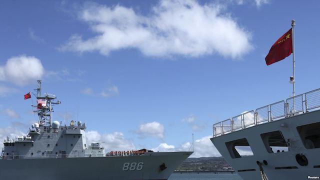 中美环太平洋军演
